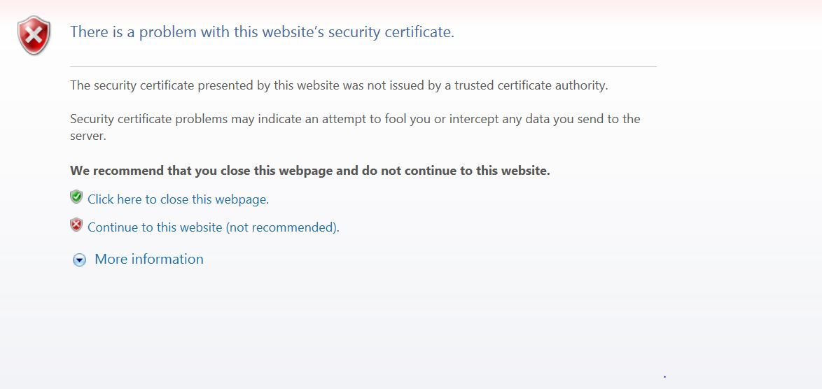 How To Fix The Certificate Error Issue In Qlik Sen Qlik Community