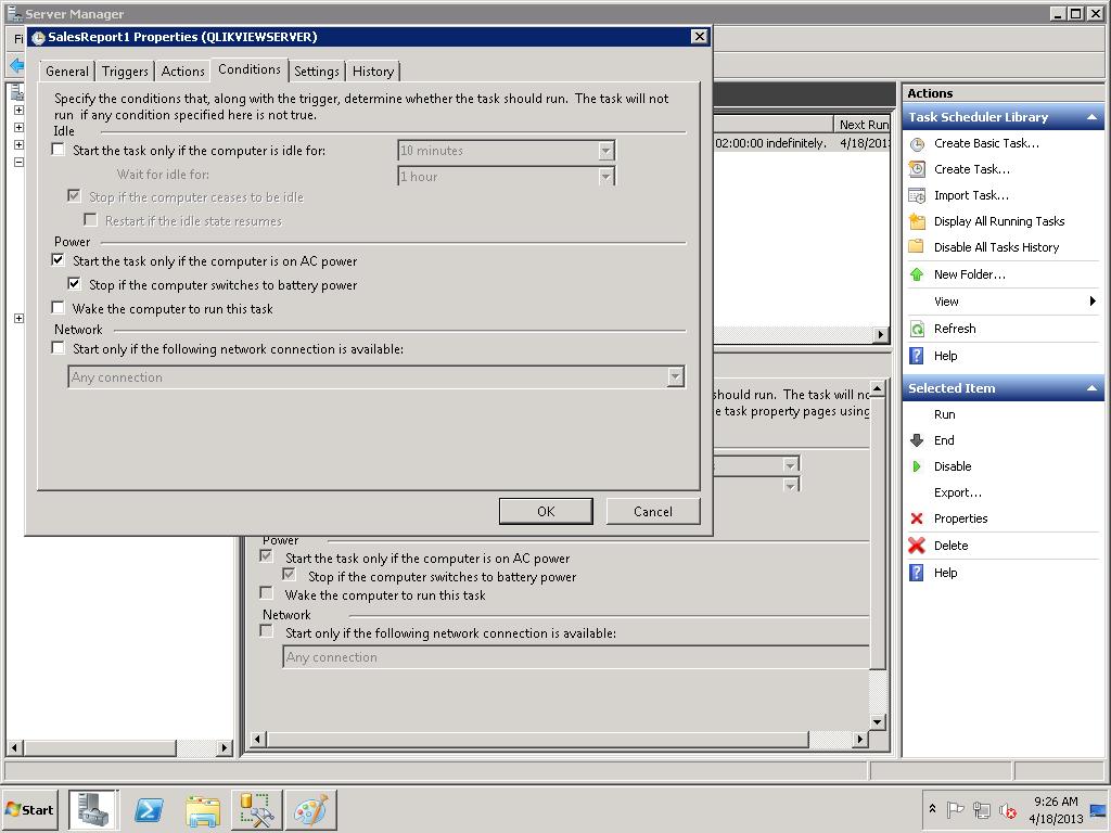 Refresh qvd by batch file - Qlik Community