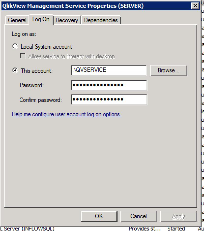 Solved: QlikView Management Service Not Running - Qlik Community