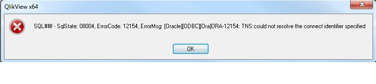 able to connect with oracle DB with client but fai    - Qlik
