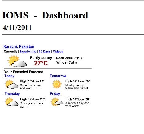 Solved: Weather forecast - Qlik Community