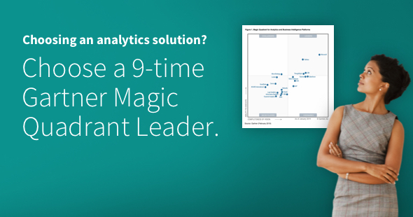 Qlik - A Gartner Magic Quadrant Leader