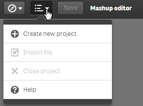 Mashup Editor - Create a Bootstrap Drop Down selec    - Qlik