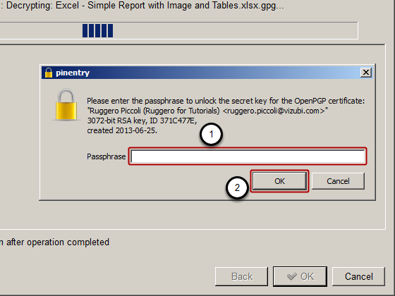 How to Use OpenPGP Encryption with NPrinting - Qlik Community