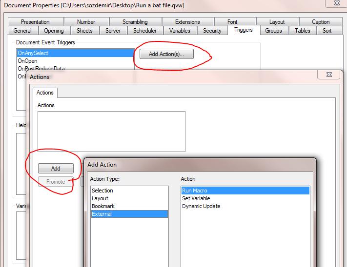 Solved: Create a Macro to run a Batch File - Qlik Community