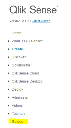 Re Is There A Reference Manual For Qliksense Desk Qlik Community