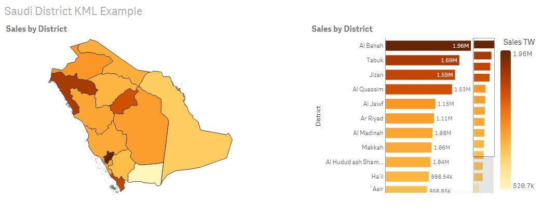 Saudi Arabia administrative districts area map exa... - Qlik Community