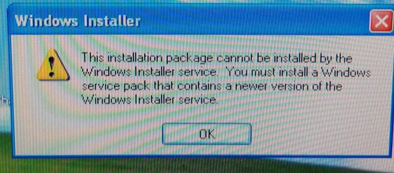 windows installer xp 2002 service pack 3