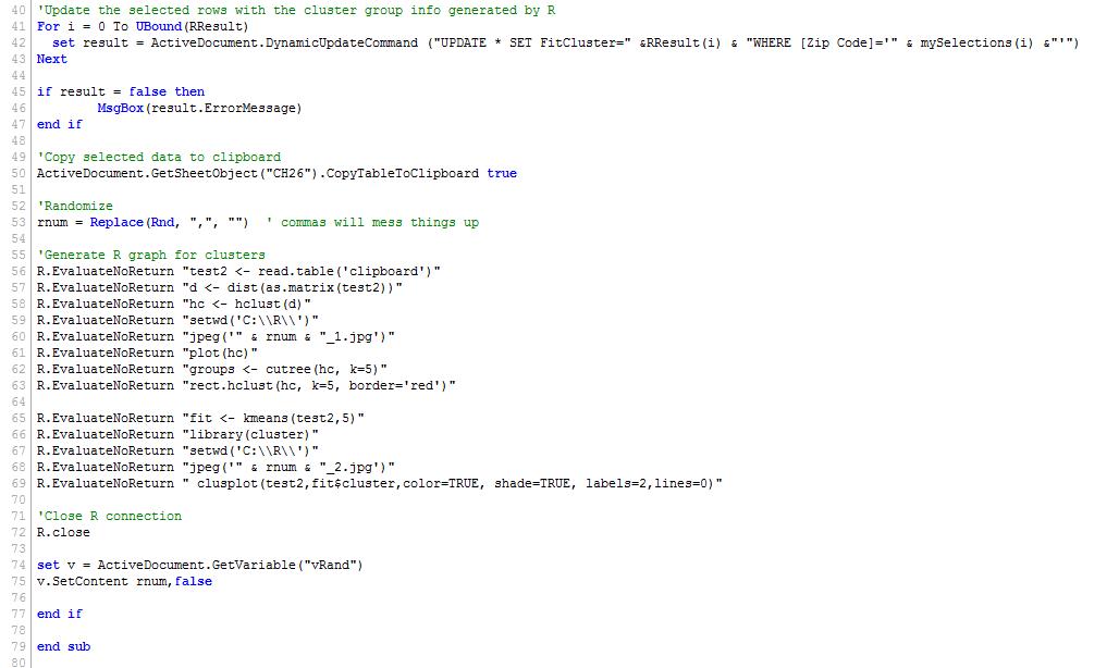 Macro running does not end - Qlik Community