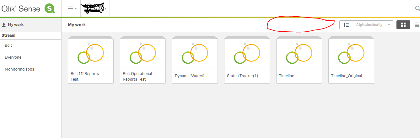 Solved: QlikSense: Create new App button unavailable in hu