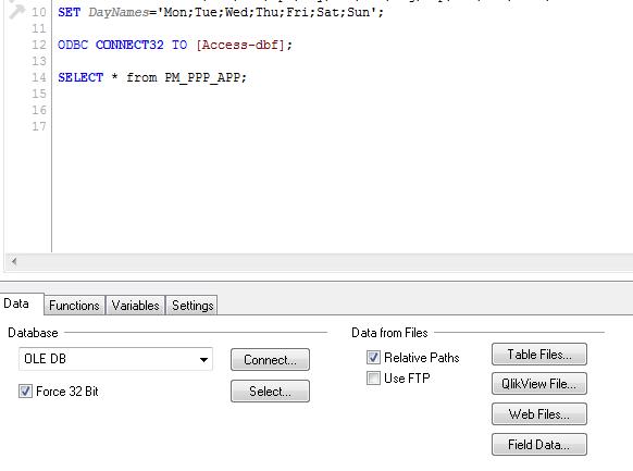 Load DBF files in Qlikview - Qlik Community