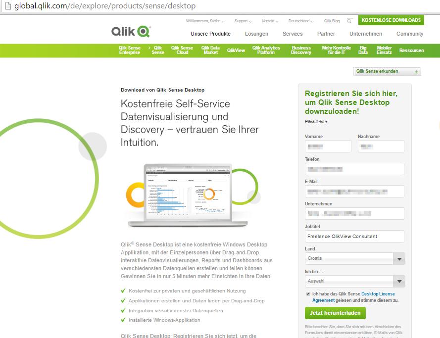 Solved: Wrong link to upgrade Qlik Sense Desktop - Qlik