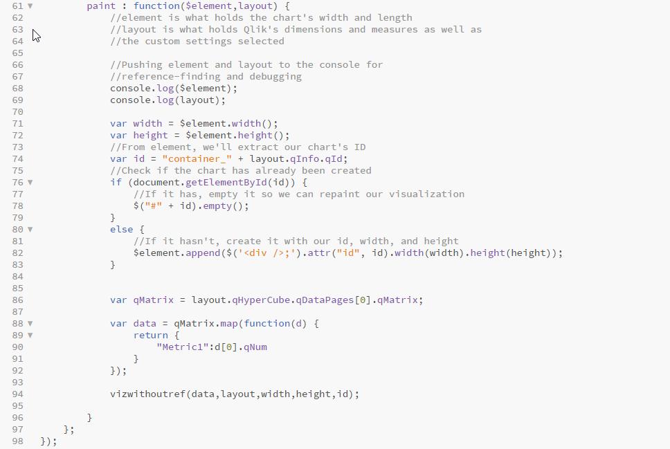 How to Develop Qlik Sense Extensions from D3 js: C    - Qlik