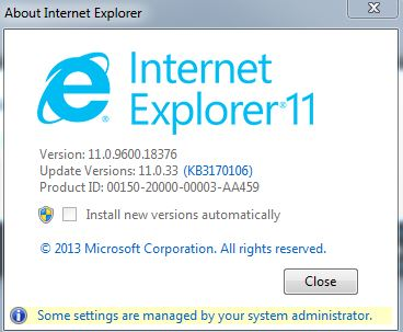 Qlik Sense and Internet Explorer 11 error - Qlik Community
