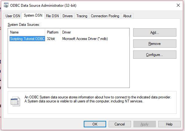 Solved: QlikSense scripting tutorial in help - create conn