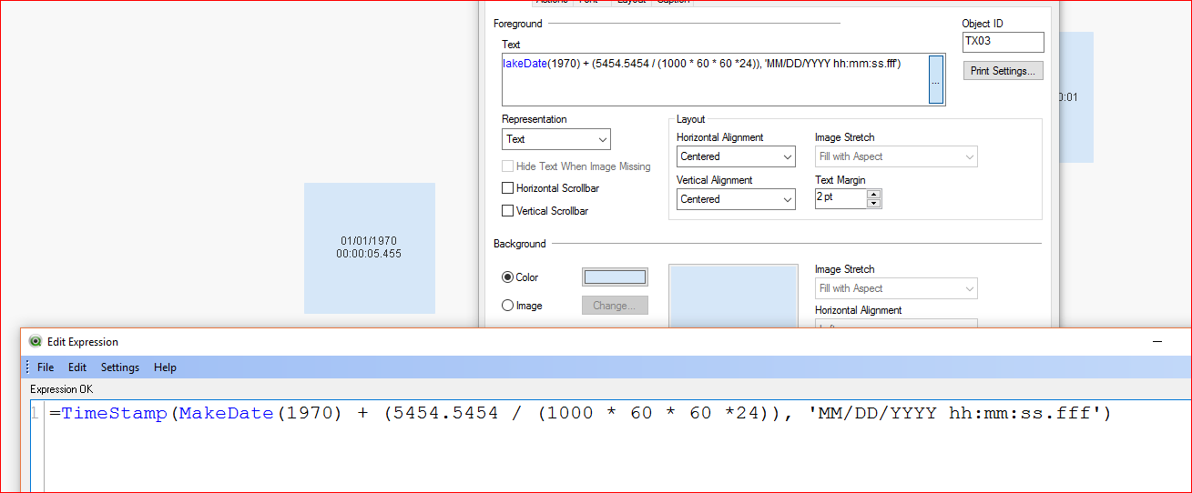 Solved: converting milliseconds to Date Time format - Qlik Community