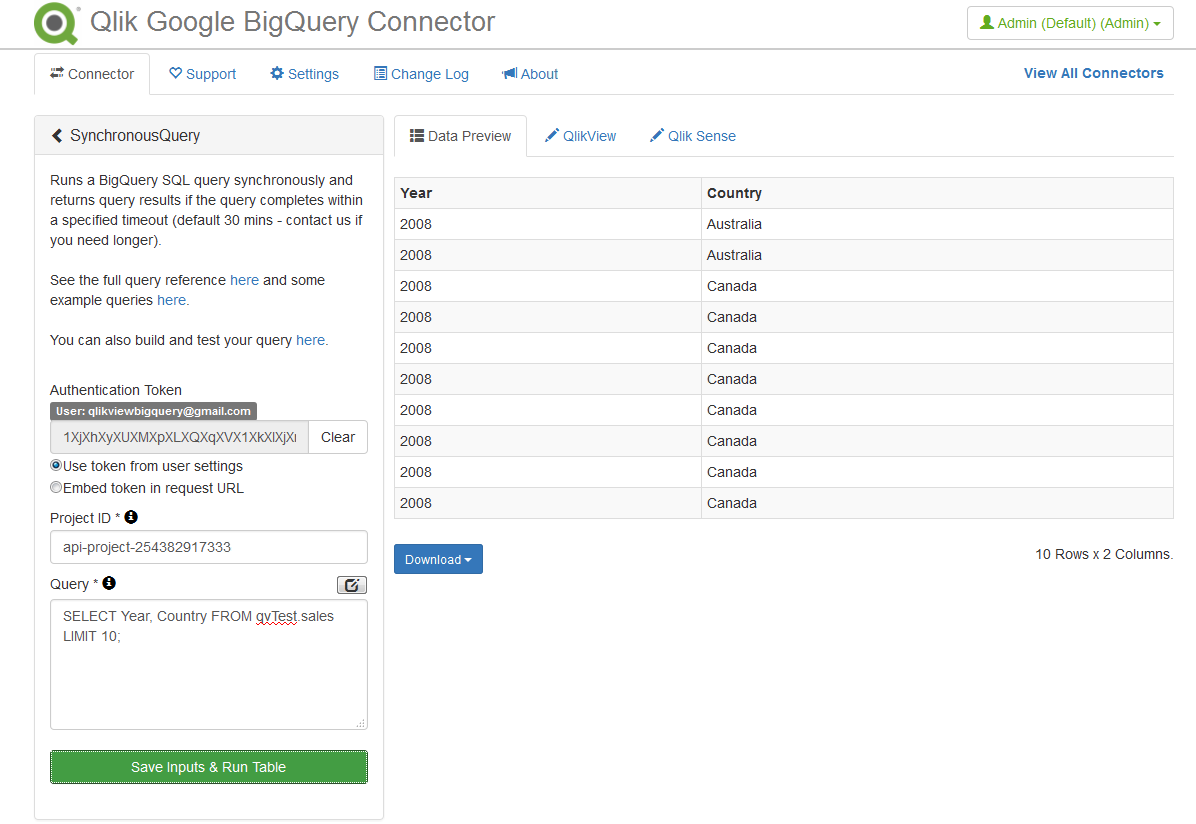 Does Qlik work with Google Bigquery? - Qlik Community