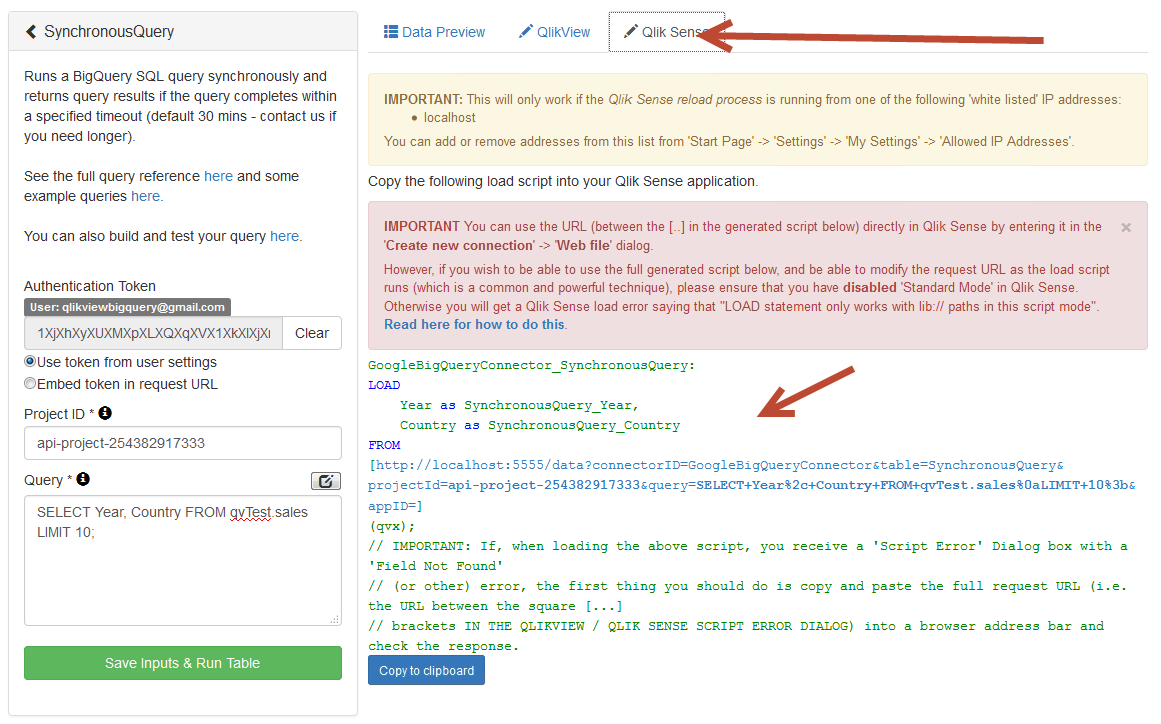 Does Qlik work with Google Bigquery? - Qlik Community