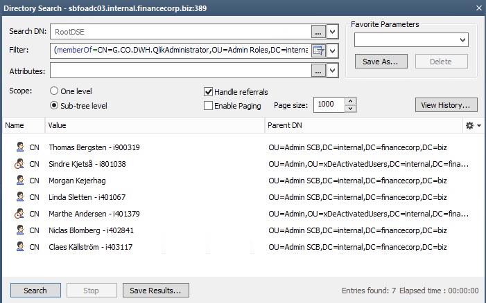 LDAP filters in Qlik Sense - Qlik Community