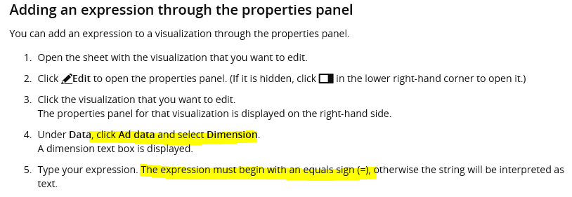 Variable expansion, quotes and equal sign - Qlik Community