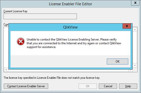 Solved: Problem setting QV license - Qlik Community - 1249074