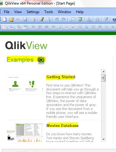 example qvw files for a beginner qlik community