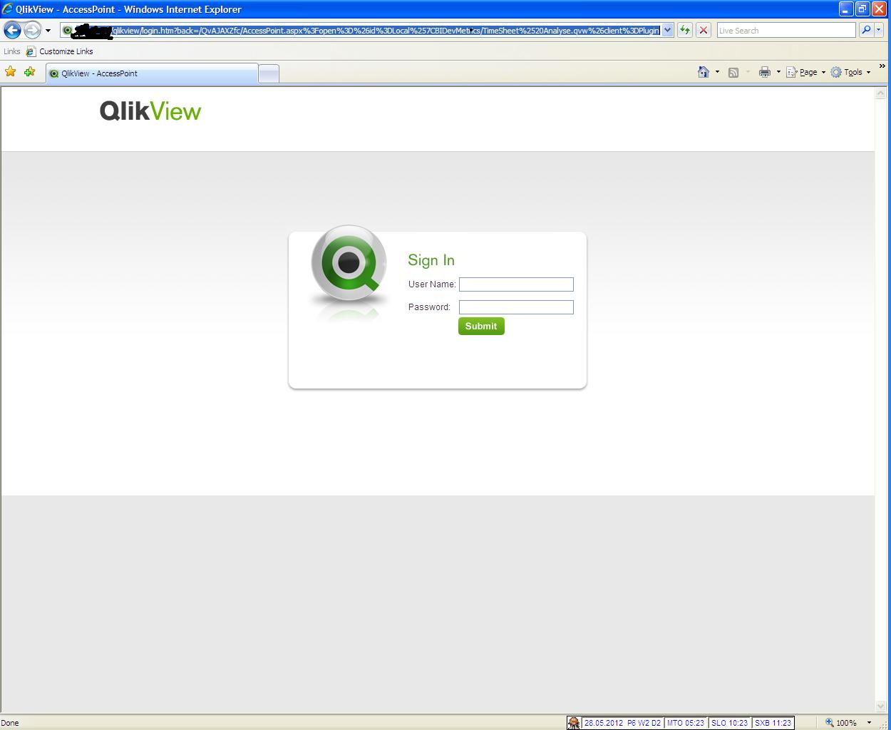 Problem with a direct link on the QV Dashboard. - Qlik ...
