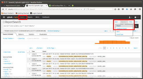 Connecting to a Report in Splunk via an ODBC conne    - Qlik