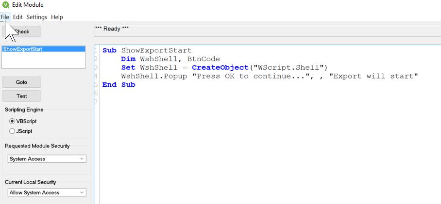VBscript error: Object required: 'WScript' - Qlik Community