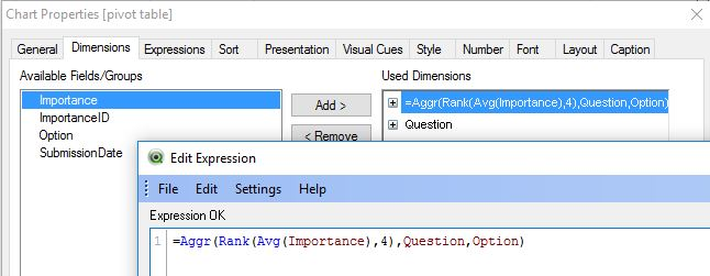 Solved: Weighted Average with Text Values - Qlik Community
