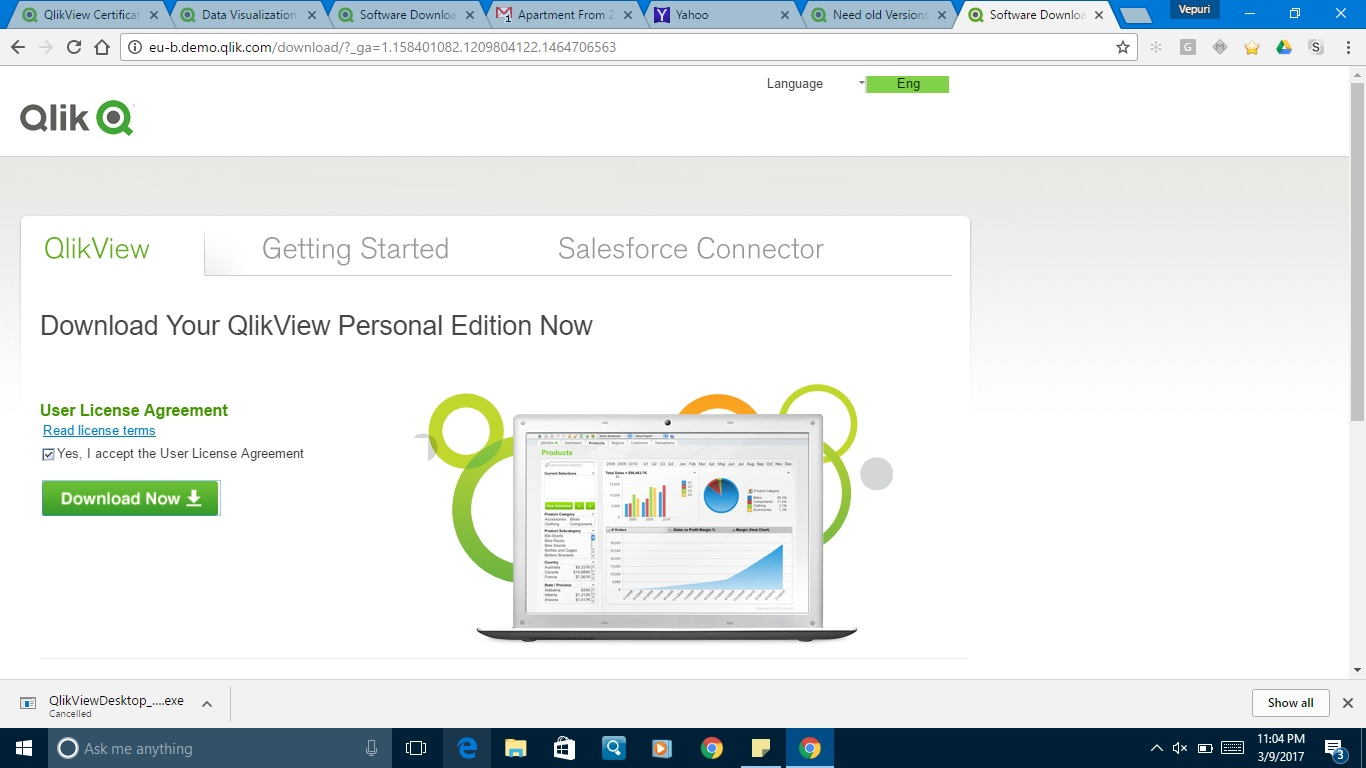 Re: Need old Versions of Qlikview