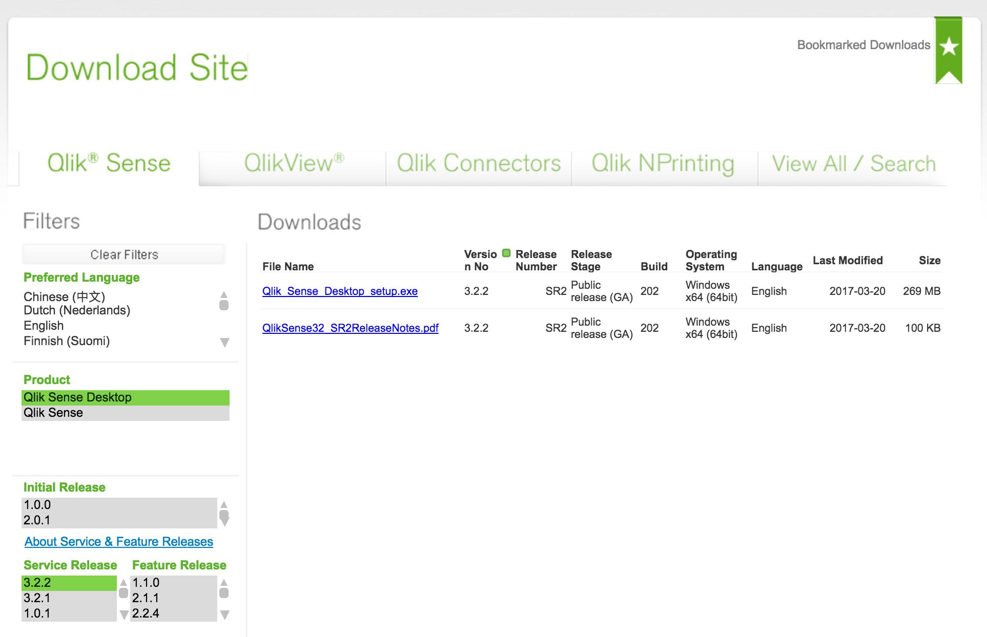 Qlik Sense desktop 3 2 free user Download - Qlik Community