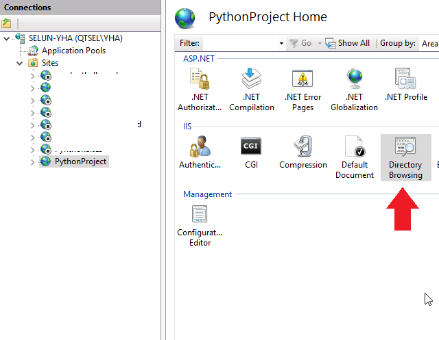 How to enable Python on IIS - Qlik Community