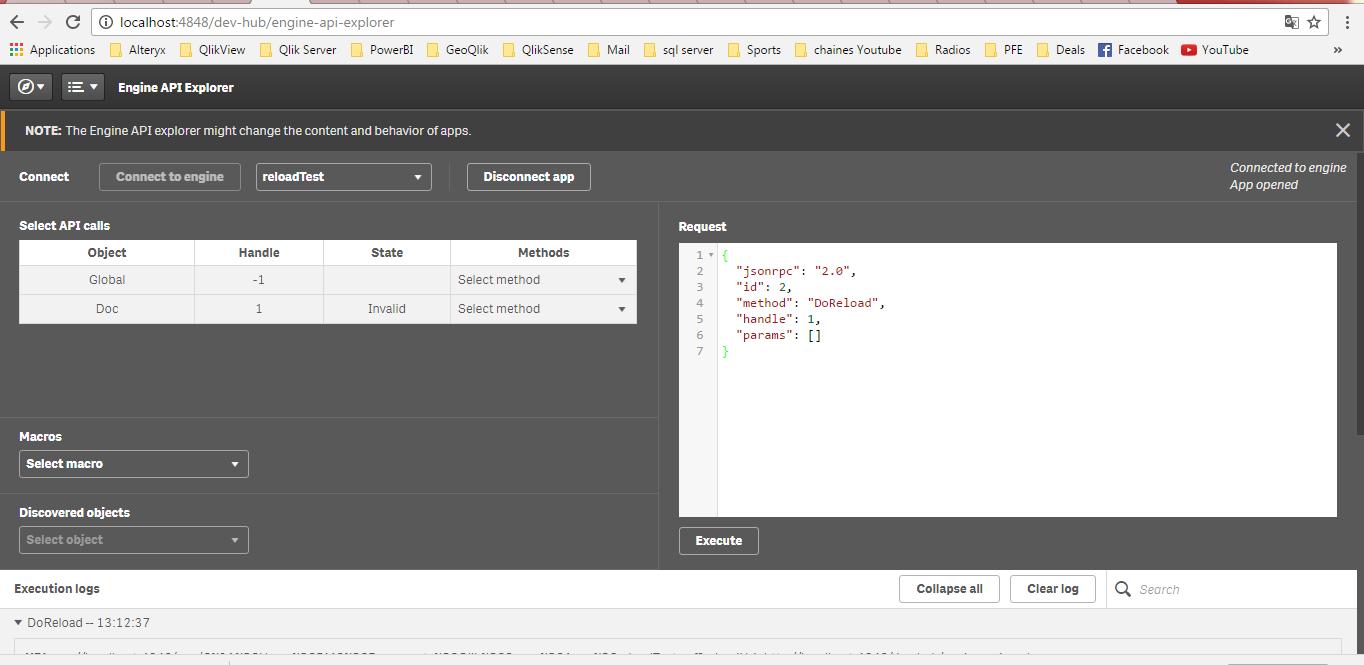 Reload Qlik Sense App via CMD command - Qlik Community
