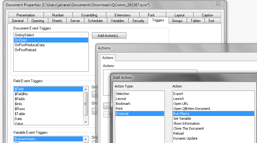 Export and Overwrite Excel - Qlik Community