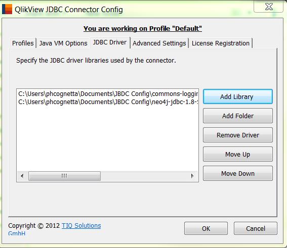 Qlik SenseJDBC connector help (Neo4j) - Qlik Community