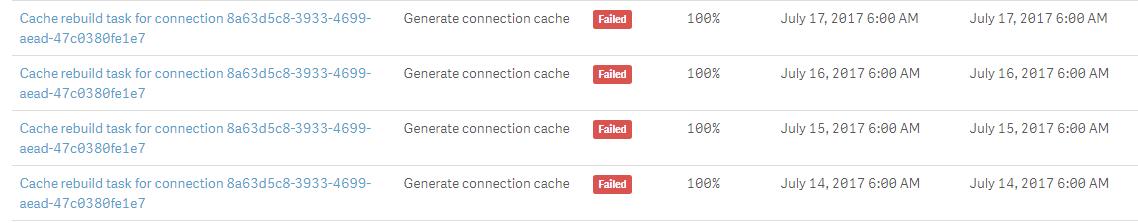 NPrinting 17 - Cache rebuild not stable - Qlik Community