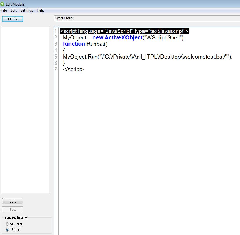 How to call a bat files by using jscript in qlikvi... - Qlik Community