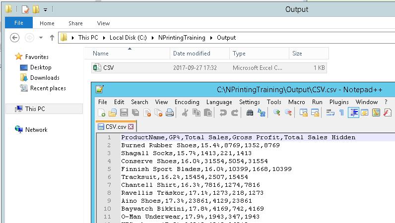 Write Csv File In C