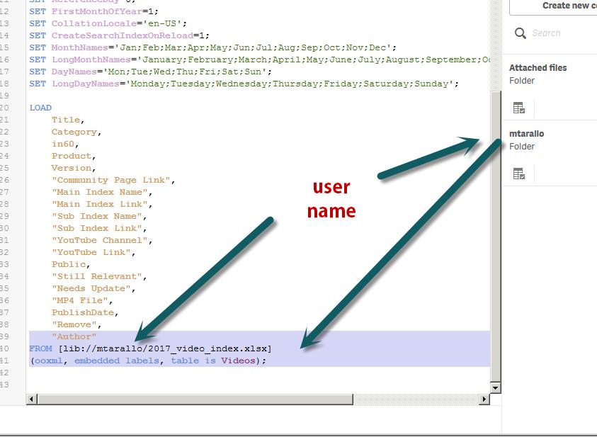 Builtin Data Source not working - Qlik Community