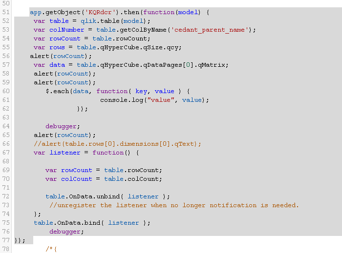 From Table API in Qlik Sense how to get the Dimens    - Qlik
