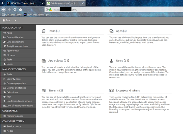 Configuring Qlik Sense Server to JWT Auth - Qlik Community