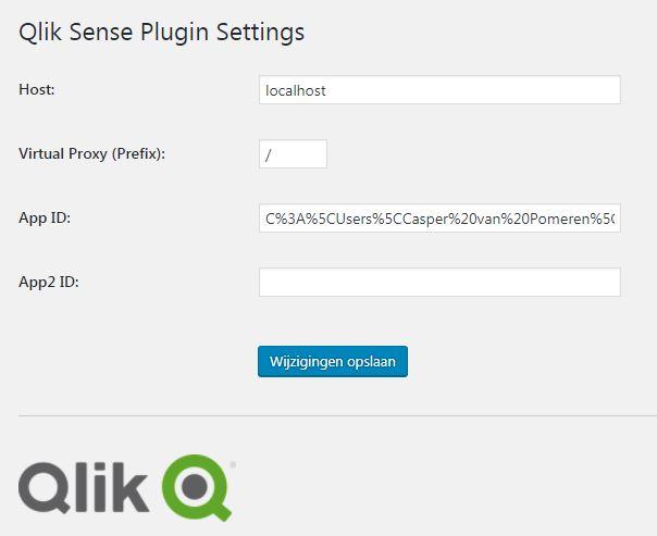 Qlik Sense Wordpress Plugin - Qlik Community