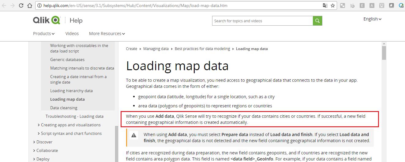 Re: Geo Coding in the Editor - Qlik Community