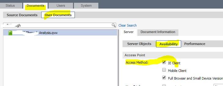Internet Explorer Plugin Issue - Qlik Community
