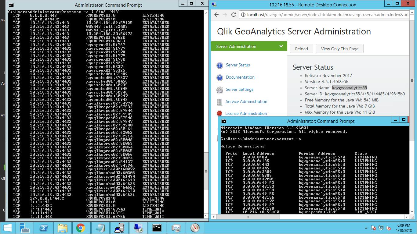 Error connecting to server (404) GeoAnalytics - Qlik Community