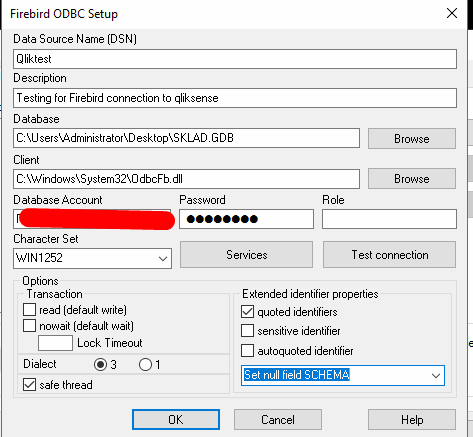Solved: Problem setting up ODBC for Firebird 2 5 - Qlik Community
