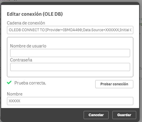 Connect to IBM DB2 (AS/400) JDBC database in QMC S    - Qlik