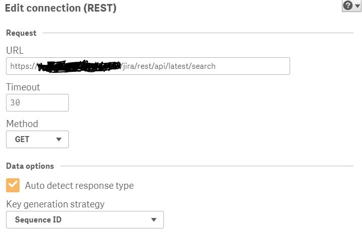 Re: Jira connection via REST API with Qlik Sense - Qlik