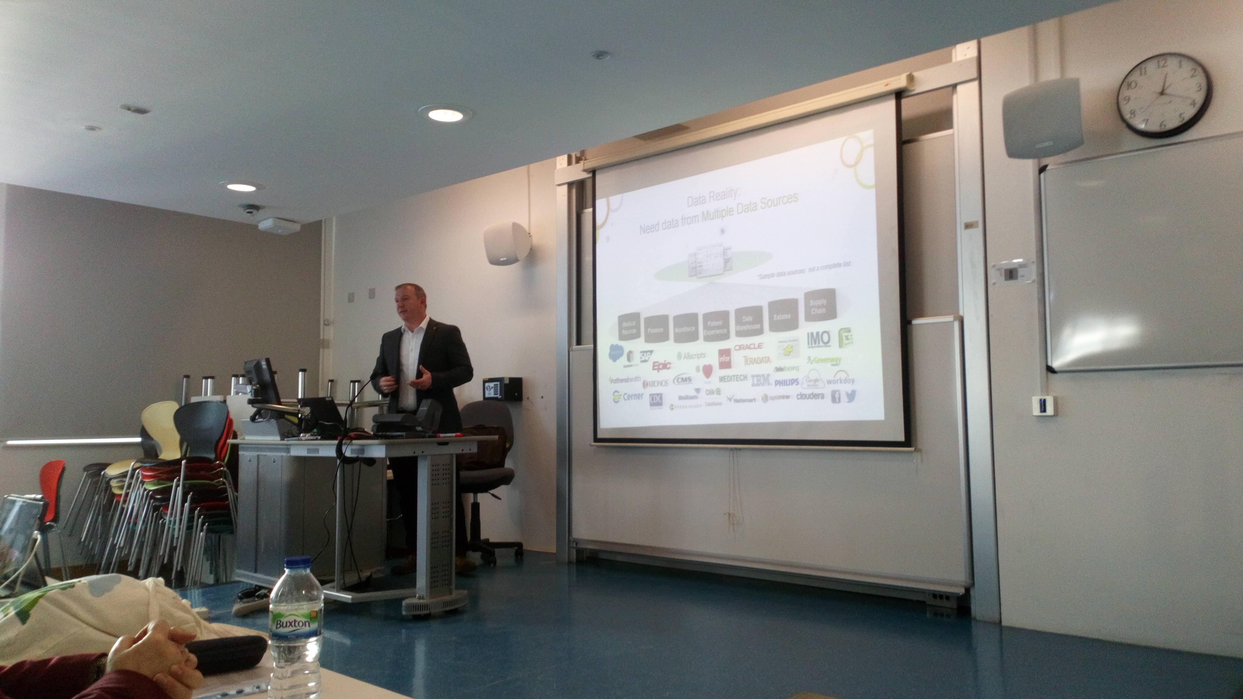 London School of Economics - Healthcare Analytics     - Qlik